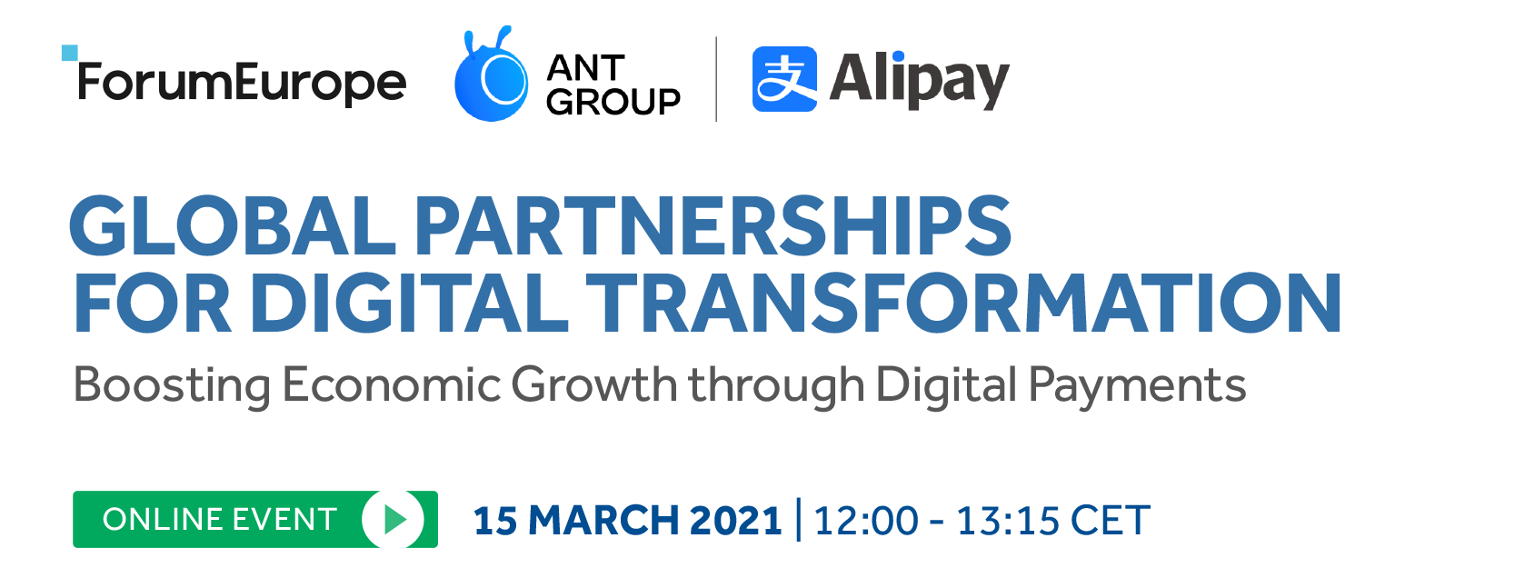 Global Partnerships for Digital Transformation event